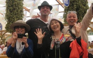 Asian Tourists Oktoberfest