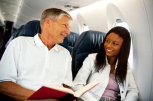 Airplane Conversation