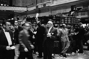 New York Stock Exchange of Yesterday