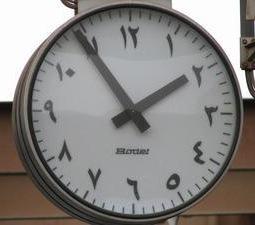 Arabic Numeric Clock