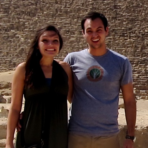 Max and Casey, Pyramids at Giza